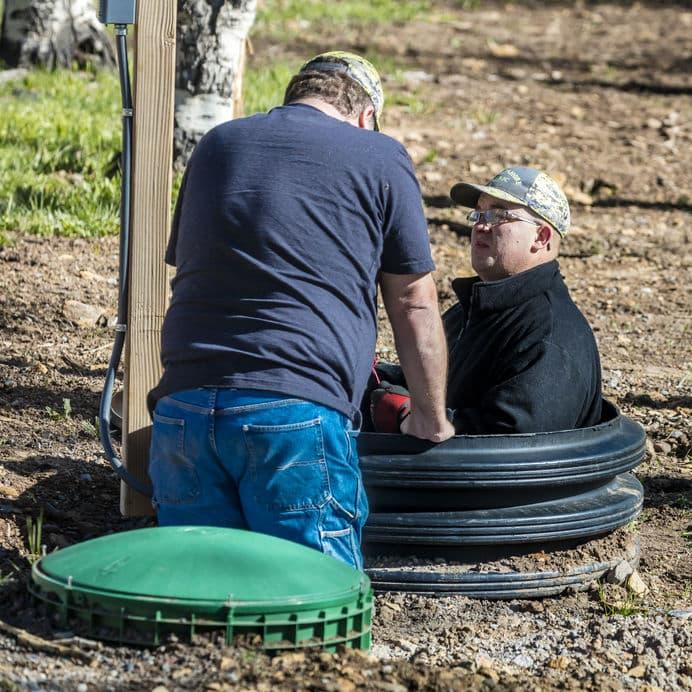 septic system in Spokane, WA