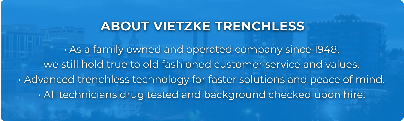About viezke trenchless